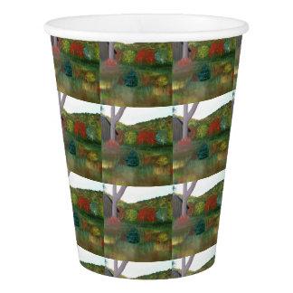 Vibrant Autumn Paper Cups