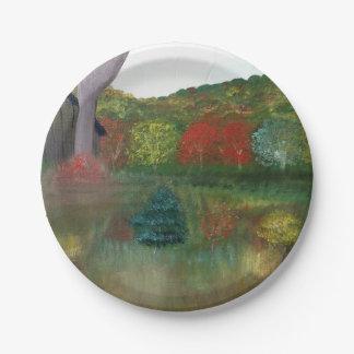 Vibrant Autumn Paper Plates