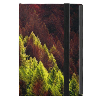 Vibrant Autumn Pine iPad Case