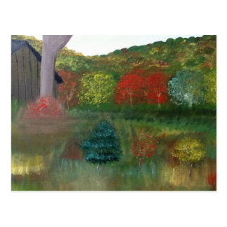 Vibrant Autumn Postcard