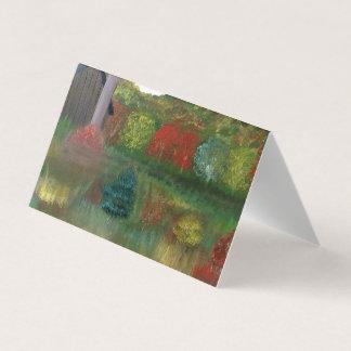 Vibrant Autumn Tent Cards