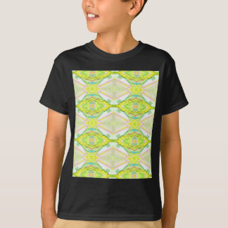 Vibrant Bright Lemon Lime Pastel Tribal T-Shirt