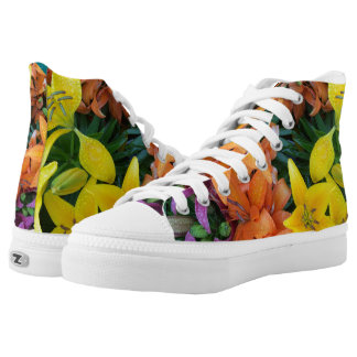 Vibrant Buds and Blooms! High Tops