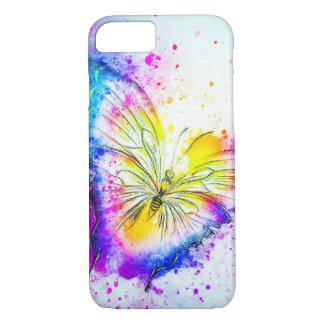 Vibrant Butterfly Design iPhone 8/7 Case