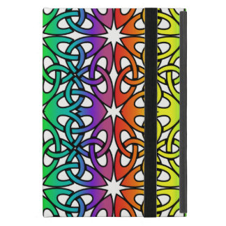 Vibrant Celtic Knot CHOOSE YOUR OWN BACKGROUND Covers For iPad Mini