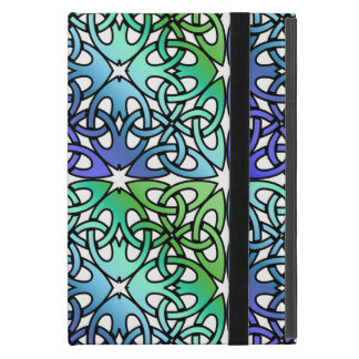 Vibrant Celtic Knot CHOOSE YOUR OWN BACKGROUND iPad Mini Case