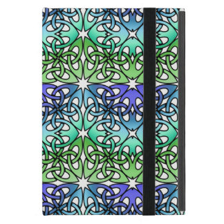 Vibrant Celtic Knot CHOOSE YOUR OWN BACKGROUND iPad Mini Case