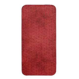 Vibrant Christmas Red Chenille Fabric Texture