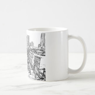 Vibrant City sketch on your personal mug