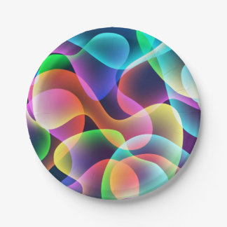 Vibrant Collection Paper Plate