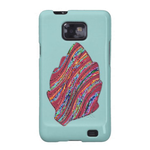 Vibrant Colored Fall Leaf Galaxy S2 Case