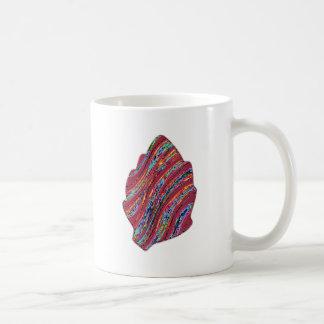 Vibrant Colored Fall Leaf Mug