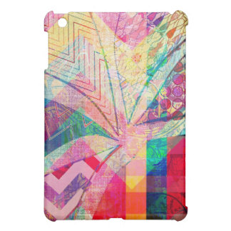 Vibrant Colorful Funky Abstract Girly Butterfly Ch Case For The iPad Mini