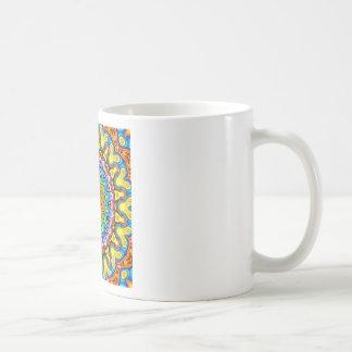 Vibrant Colorful Mandala Coffee Mug