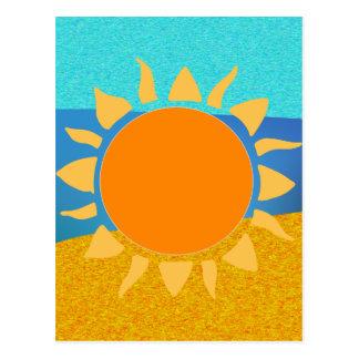 Vibrant Colors Florida... Where the Sun Lives Postcard