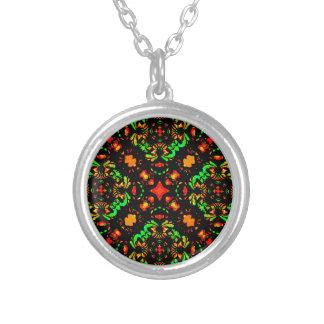 Vibrant Colors Refined Ornament Necklaces