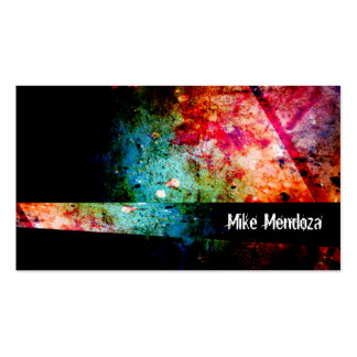 Vibrant Darkness II Pack Of Standard Business Cards