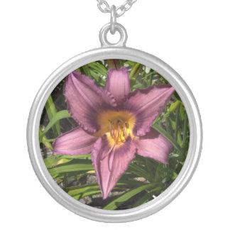 Vibrant Daylily Necklace