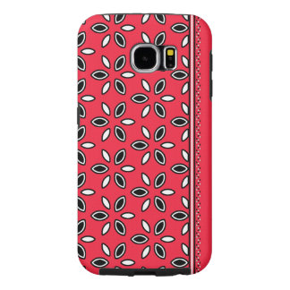 Vibrant & Eye-Catching Abstract Floral: Samsung Galaxy S6 Cases