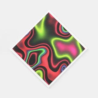Vibrant Fantasy 1 Paper Napkin