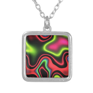 Vibrant Fantasy 1 Silver Plated Necklace