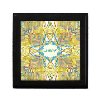 "Vibrant Festive Inspirational ""JOY"" Uncommon Gift Box"