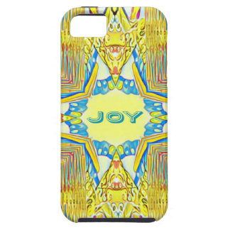 "Vibrant Festive Inspirational ""JOY"" Uncommon iPhone 5 Cover"
