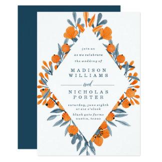 Vibrant Flora | Wedding Invitation