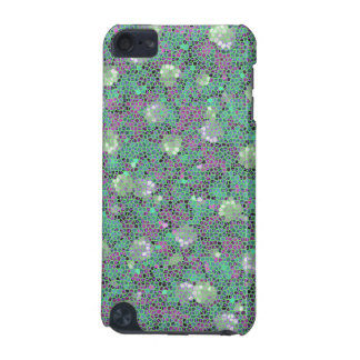 Vibrant Floral Mosaic Trendy Colorful Pattern Art iPod Touch (5th Generation) Cases
