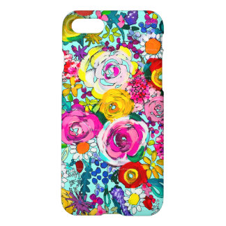 Vibrant Floral Painting iPhone 8/7 Case