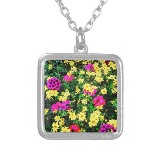 Vibrant Flower Bed Necklace