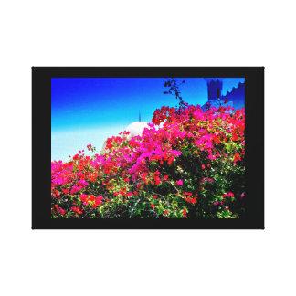 Vibrant Flowers Canvas Print