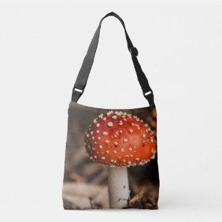 Vibrant Fungi Crossbody Bag