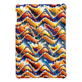 Vibrant Geometric Motif Case For The iPad Mini