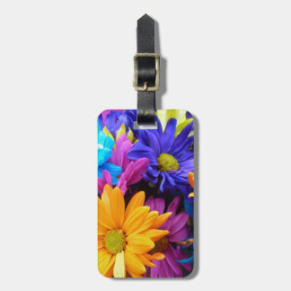 Vibrant Gerbera Daisy Bouquet Luggage Tag