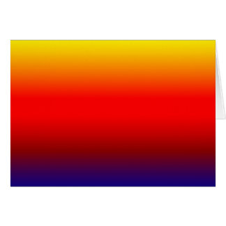 Vibrant Gradient Greeting Card