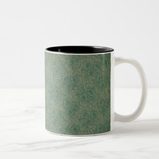 Vibrant Green Two-Tone Coffee Mug