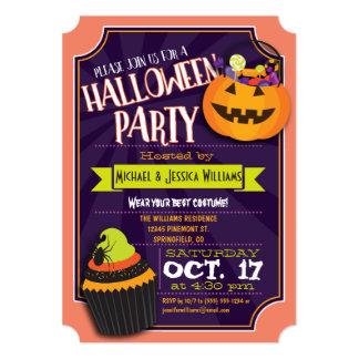 Vibrant Halloween Party Invitation