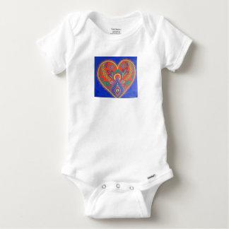 Vibrant Heart baby suit Infant Onesie