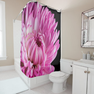 Vibrant in Pink Dahlia Shower Curtain