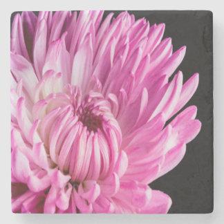 Vibrant in Pink Dahlia Stone Coaster
