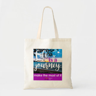 Vibrant Life - Life is  Journey Tote Bag