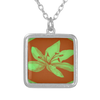 Vibrant lily pendants