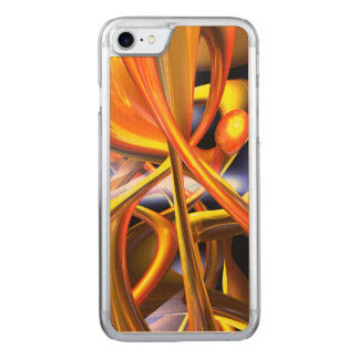 Vibrant Love Abstract Carved iPhone 7 Case