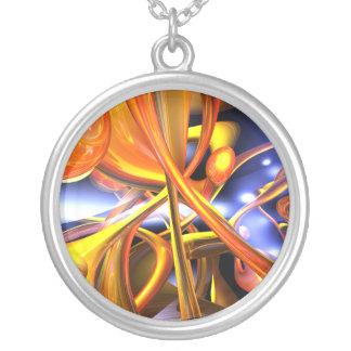 Vibrant Love Abstract Necklace