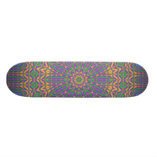 Vibrant Mandala 2 18.1 Cm Old School Skateboard Deck