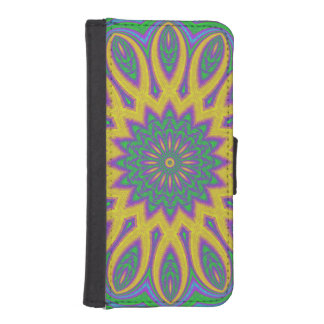 Vibrant Mandala iPhone SE/5/5s Wallet Case