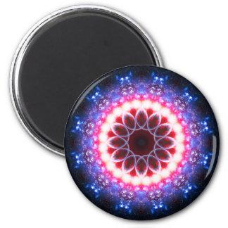 Vibrant Mandala Magnet