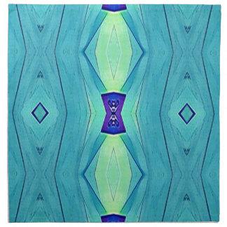 Vibrant Modern Shades Of Teal Blue Mint Napkin
