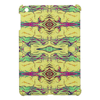 Vibrant Multi Colored Artistic Pattern Cover For The iPad Mini